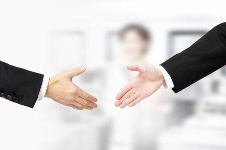 手を振ってください。 写真素材