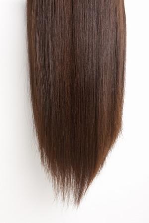 capelli lisci: Capelli lisci Archivio Fotografico