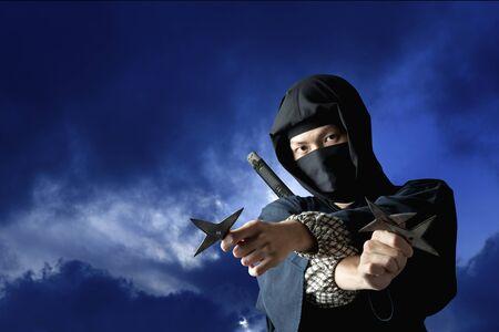 attire: Ninja Stock Photo