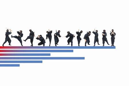 plural number: Ninja and chart