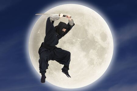 japanese ninja: Ninja Stock Photo