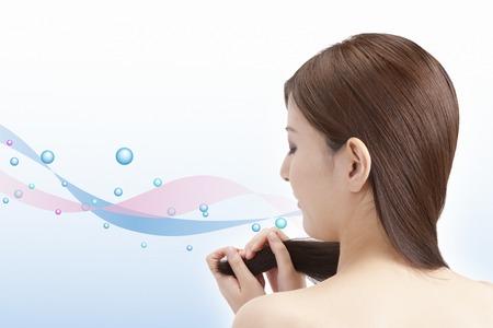 Hair care Stockfoto