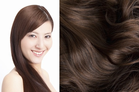 coherence: Hair care Stock Photo