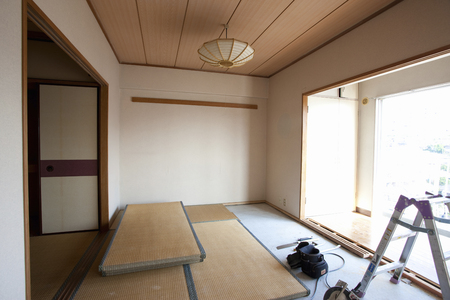 rennovation: Japanese-style room before renovation