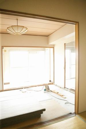 rennovation: Japanese-style room before renovation