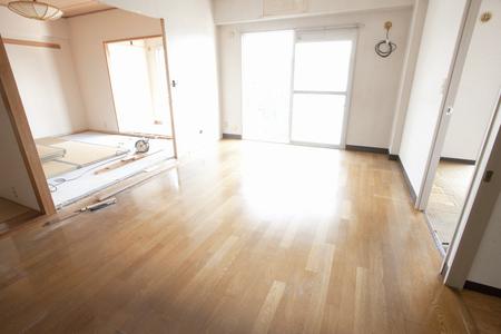 rennovation: Living room before renovation