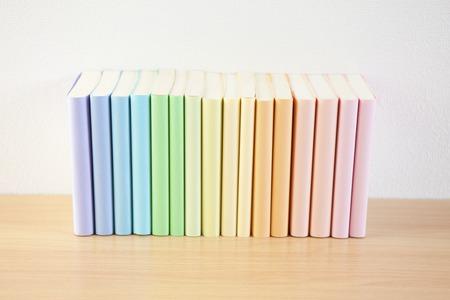 neatly: Colourful books