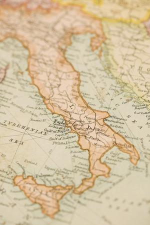 Antiguo mapa del mundo Foto de archivo - 43591267