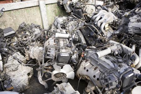 dismantling: Dismantling parts of the automobile