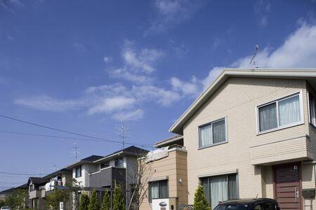 residential: Residential houses Stock Photo
