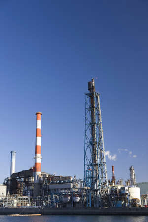 complex: Petrochemical complex Stock Photo