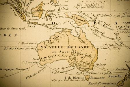 古地図 写真素材