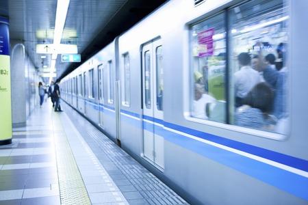 metro train: Metro Stock Photo