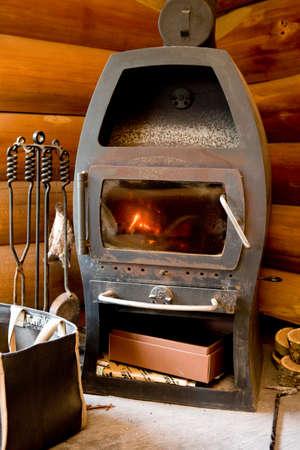 wood burning stove: Wood burning stove