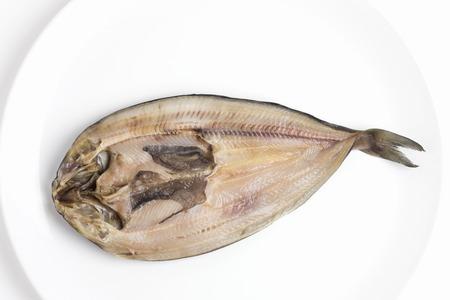 Atka mackerel of dried fish