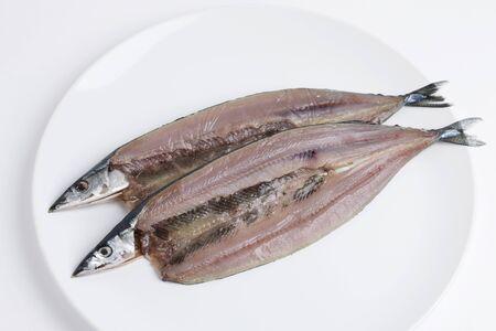 dried fish: Saury of dried fish