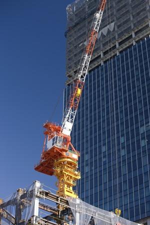 pleasent: Construction crane