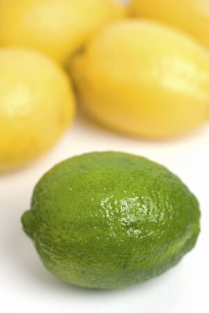 foodstuff: Lime and lemon