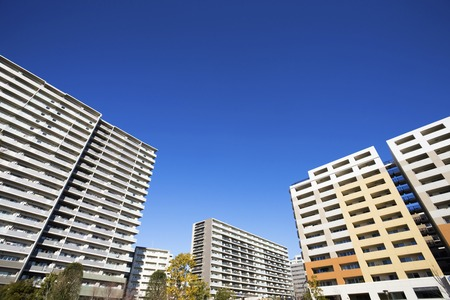 pleasent: High rise apartment