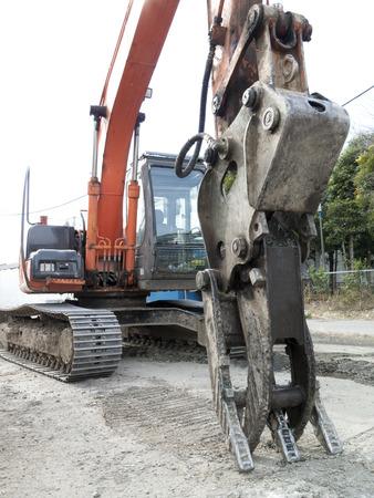 hydraulic: Hydraulic shovel