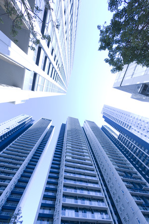 cluster house: High rise apartment