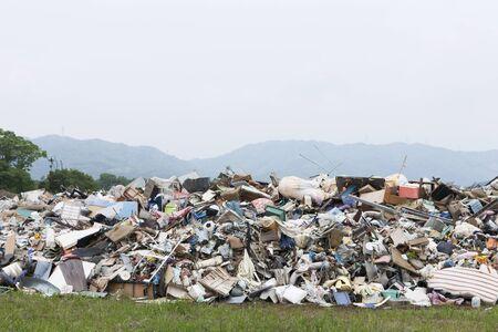 rubble: Piles of rubble