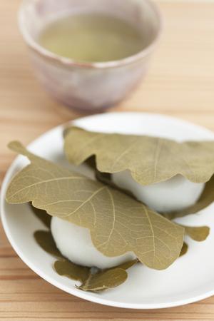 sencha: Kashiwamochi