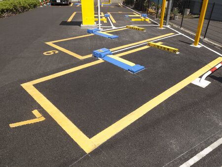コイン駐車場 写真素材 - 46299964