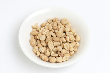 foreigner: Roasted peanuts Stock Photo