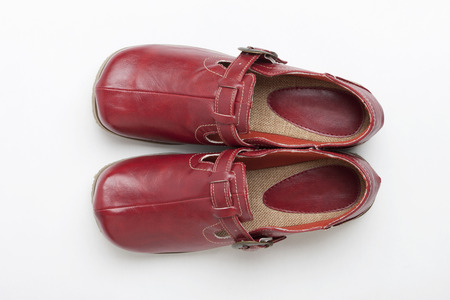 red shoes: The red shoes