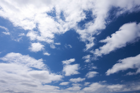 early summer: In early summer the sky and clouds