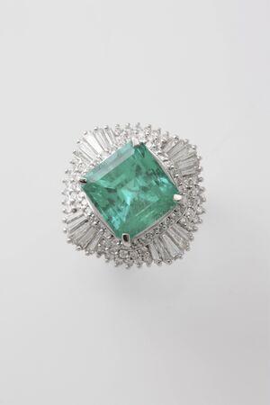 emerald: Emerald ring