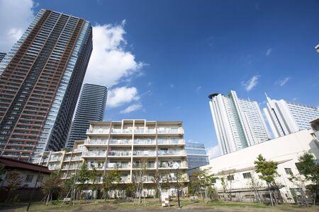 武蔵小杉の新興住宅地