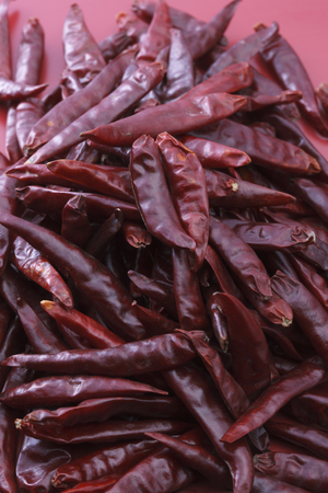 capsaicin: Red pepper Stock Photo