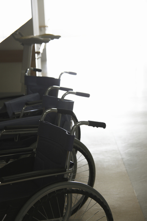 fostering: Wheelchair Stock Photo