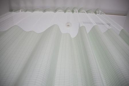 病院のカーテン 写真素材