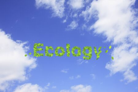 pleasent: Blue sky and ecology image Stock Photo