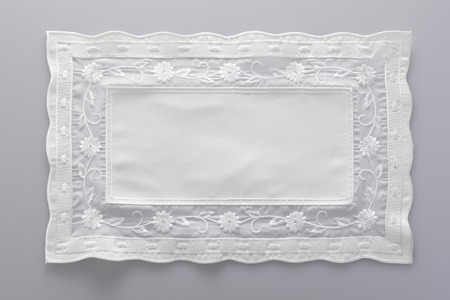 ancestry: Luncheon mat of race Stock Photo