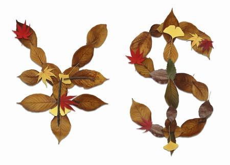 hojas secas: Carácter de hojas secas de blanco de nuevo
