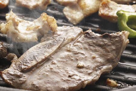 roast meat: Roast meat