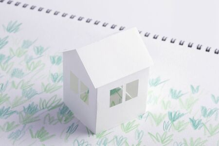 sod: Lawn House paper craft and illustrations