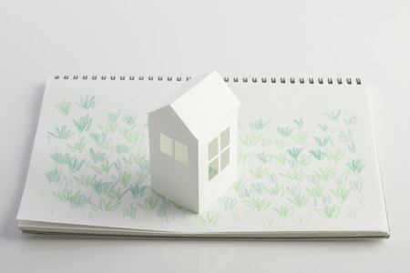 circumstance: Lawn House paper craft and illustrations