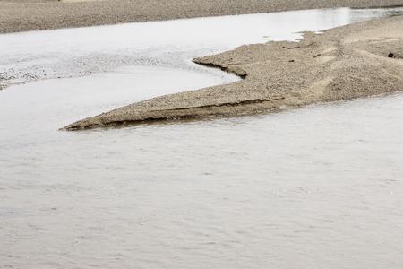 sandbank: Kizu Stock Photo