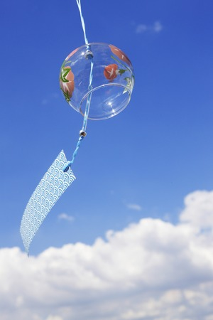 青い空と風チャイム