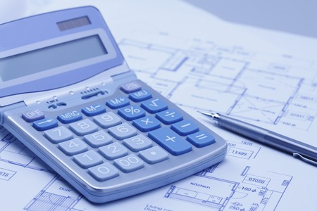 repayment: Design view and a calculator and a pen