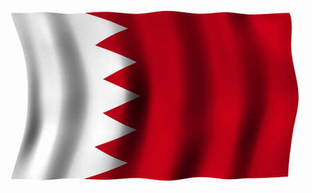 bahrain: Flag of Bahrain