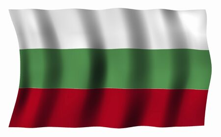 bulgaria: Bulgaria Flag Stock Photo