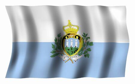 sammarinese: Flag of San Marino
