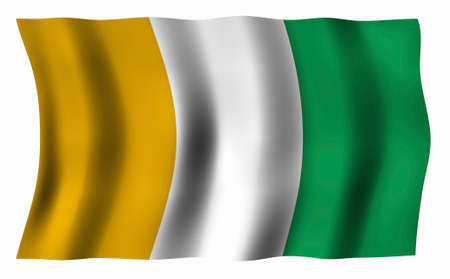 ivory: Flag of Ivory Coast