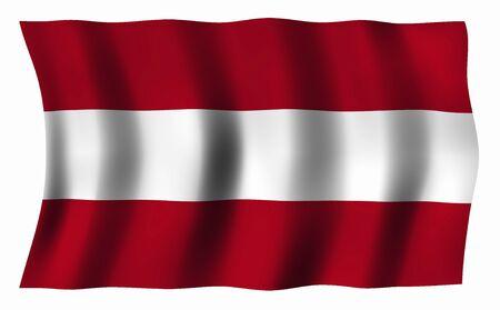 austria flag: Austria Flag Stock Photo